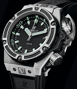Hublot Oceanographic 4000: een duikhorloge volgens het boekje - Horloge.info Nieuws