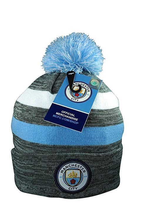 bc94e9e4b20 Manchester City F.C. Authentic Official Licensed Product Soccer Beanie   ManCity  Football  Fans
