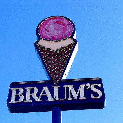 Braum's Ice Cream and Dairy- Anyone in Oklahoma knows you can find a Braum's in almost every town. They make some of the best ice cream in the world and use fresh milk and cream from their own dairy herd.