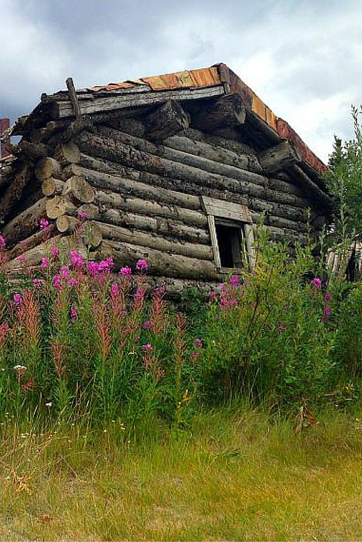 Silver City in Kluane National Park, Yukon, Canada. Just one of the cool day trips you can do from Haines Junction!