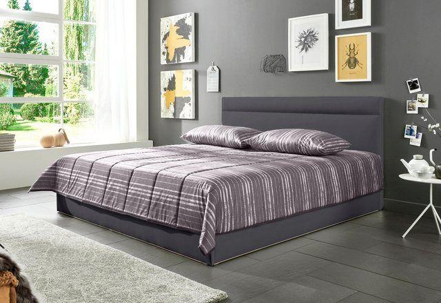 Polsterbett, in 2 Liegehöhen, wahlweise mit Bettkasten
