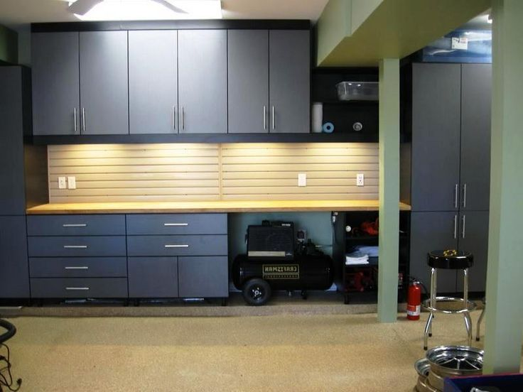 stylish grey garage storage cabinets design - Garage Wall Cabinets