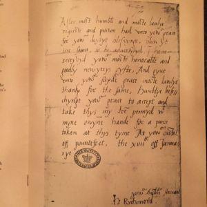 FitzRoy Letter 1527