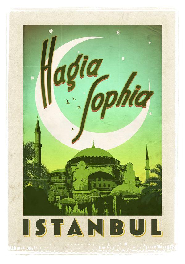 Aya Sofya Camii - İstanbul - Yaklaşık 1500 yıl önce, Bizans İmparatoru Jüstinyen tarafından inşa ettirilen, İstanbul'un fethiyle birlikte önce camiye dönüştürülüp, ilerleyen yıllarda da müze olarak hizmet vermesi sağlanan dünyanın en eski katedrali… Mimarlık dünyasının başyapıtlarından biri: Aya Soyfa.