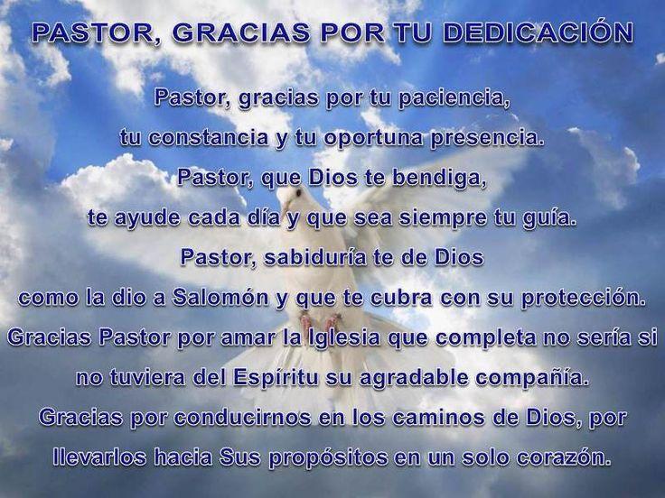 Mensajes De Agradecimiento: 17 Best Images About Día Del Pastor On Pinterest