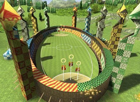 Harry Potter Quidditch Spiel
