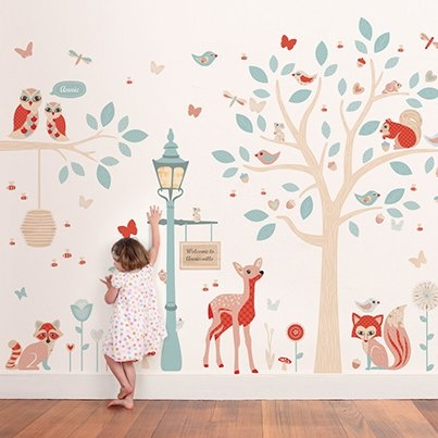 Wallpaper baby room