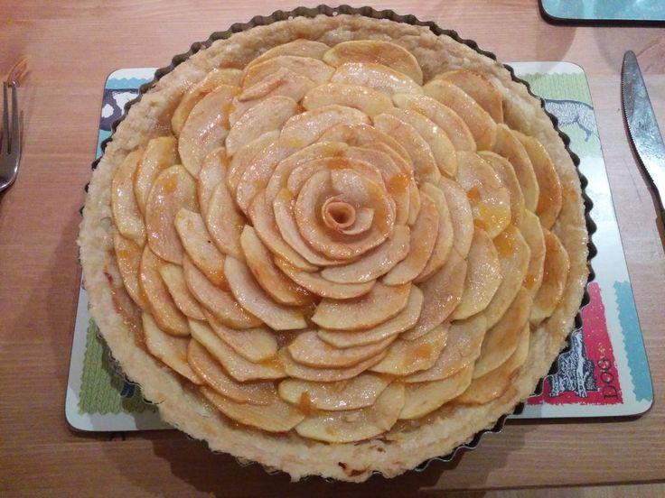 NapadyNavody.sk | Jablkový koláč v tvare ruže