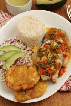Bagre en salsa criolla    Receta latina   Cuaresma   Semana Santa   Pescado