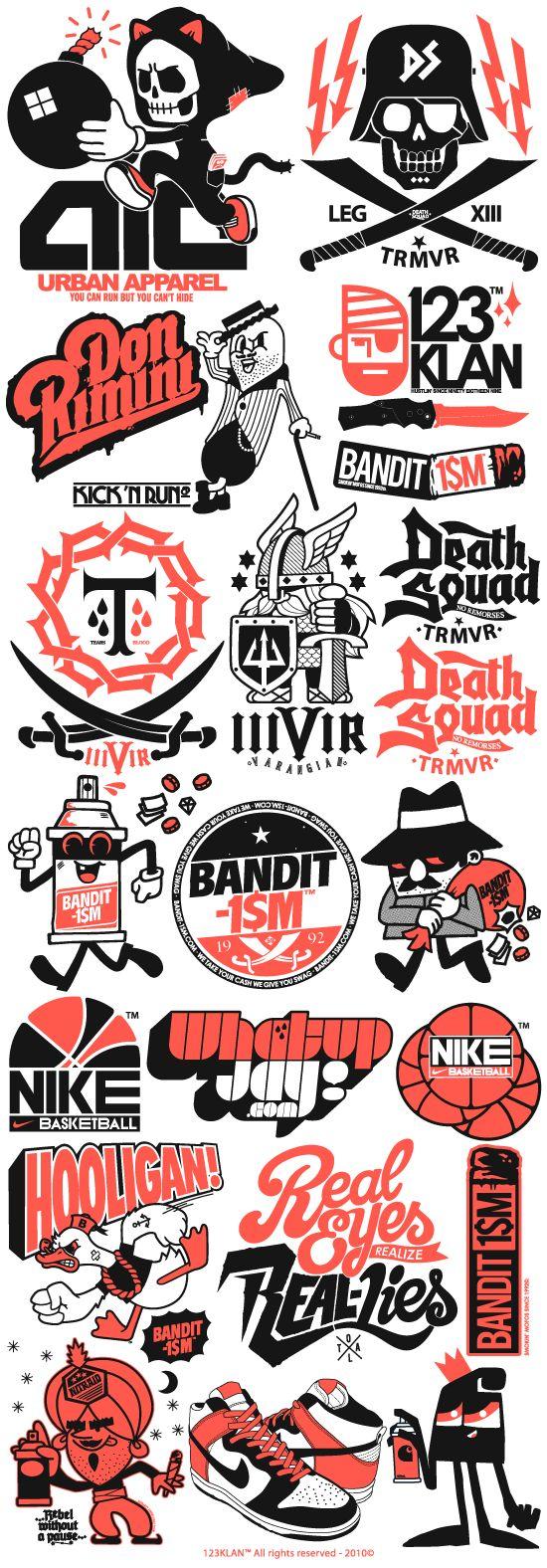 123 Klan logos