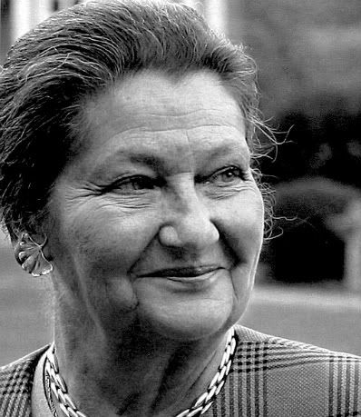 Simone Veil, one of the world's most courageous, powerfull people.