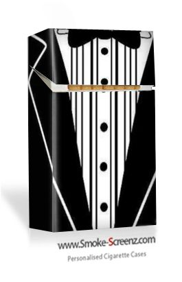 For those 'black tie' events - a cigarette case for every moment!