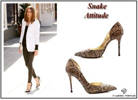 #fratellipetridi #women #snake #print #pumps #highheels #summer #mood #elegant #fashion