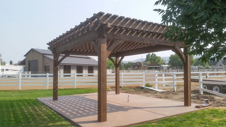 How To Build A Freestanding Carport 2020 In 2020 Building Carport Free Standing