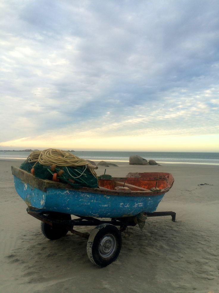 Paternoster beach at sunset