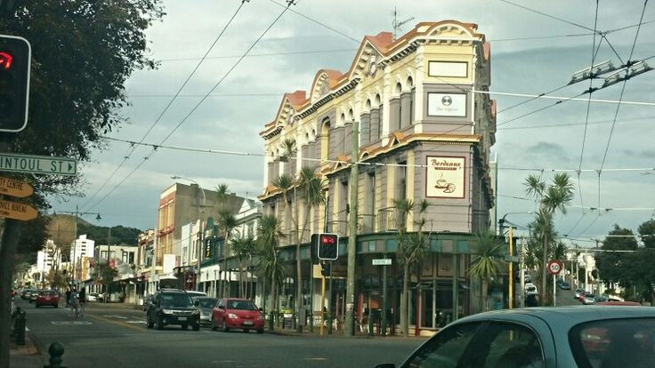 Amazing old building, Newtown, Wellington. Photo Kylie Wetherall