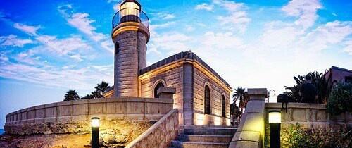 Faro de Roquetas de Mar.