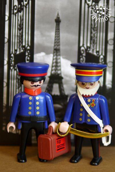 Gendarmen en paris