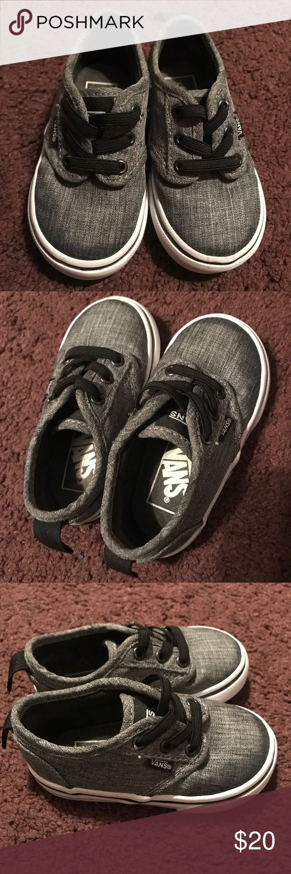 Toddler Vans for boys Excellent condition!!! No box Vans Shoes Sneakers
