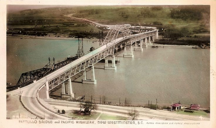 Pattullo Bridge New West 1940
