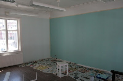 Renovation: painting.