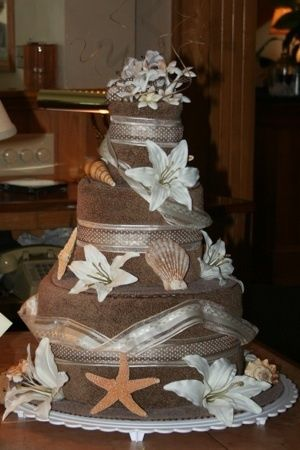 wedding cake made out of towels 419 best nappy cakes amp towel cakes images on 23110