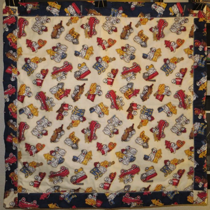 Baby quilt made following the Missouri Star Quilt Co tutorial \