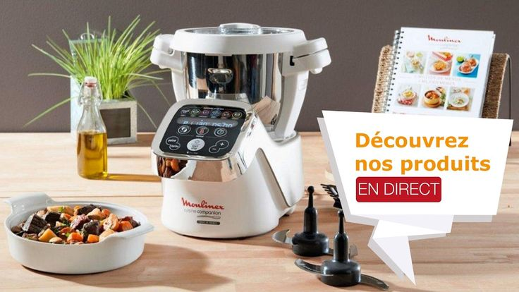 Discover the Moulinex Companion kitchen robot