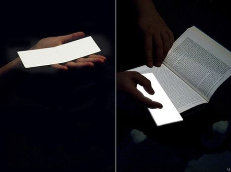 Lightleaf  – This unique bookmark kills two birds with one stone – not only does it make sure you know where you last left off, it will also come with an illuminating surface that offers a glow bright enough to read in the dark without disturbing anyone else. I desperately need this!