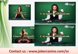 Casino bonus, svenska casino  JokerCasino - THe best online casino with best bonuses, free sping and more! Play online Blackjack, Roulette, Slot Machines, Bingo , Jackpots and many more! Register for free and experience the number 1 online casino. https://www.jokercasino.com/sv/