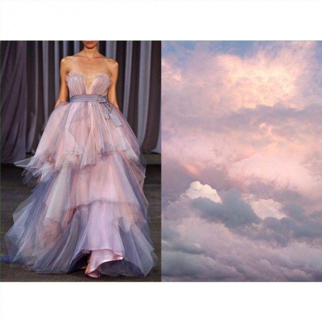Blog ☁PHOTO & L' ART☁  • Christian Siriano S/S 2013 • & • Pastel clouds…