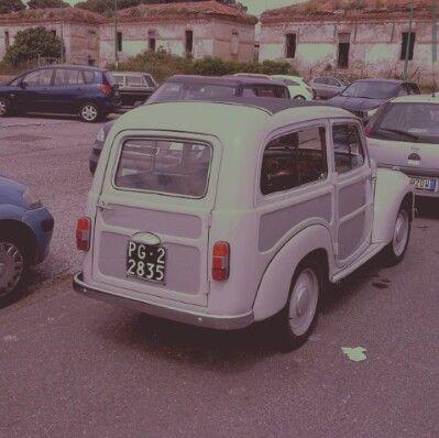 FIAT 500Giardiniera  da @vintagebue INSTAGRAM