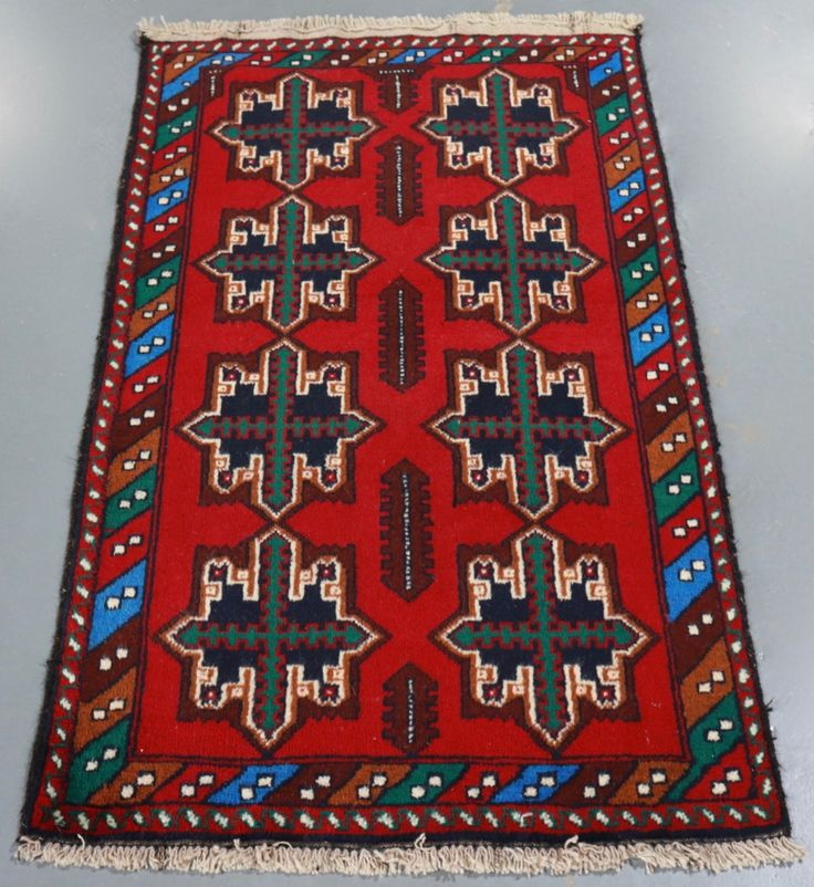 Baluchi Tribal Rug (Ref 896) 131x78cm - PersianRugs.com.au