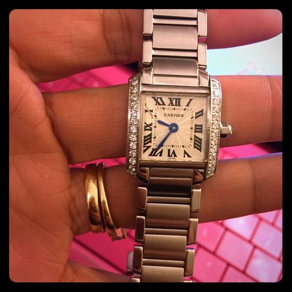 Yes 4 trade 👍 authentic Cartier watch Just the watch. Some normal wear from being used. Cartier Jewelry