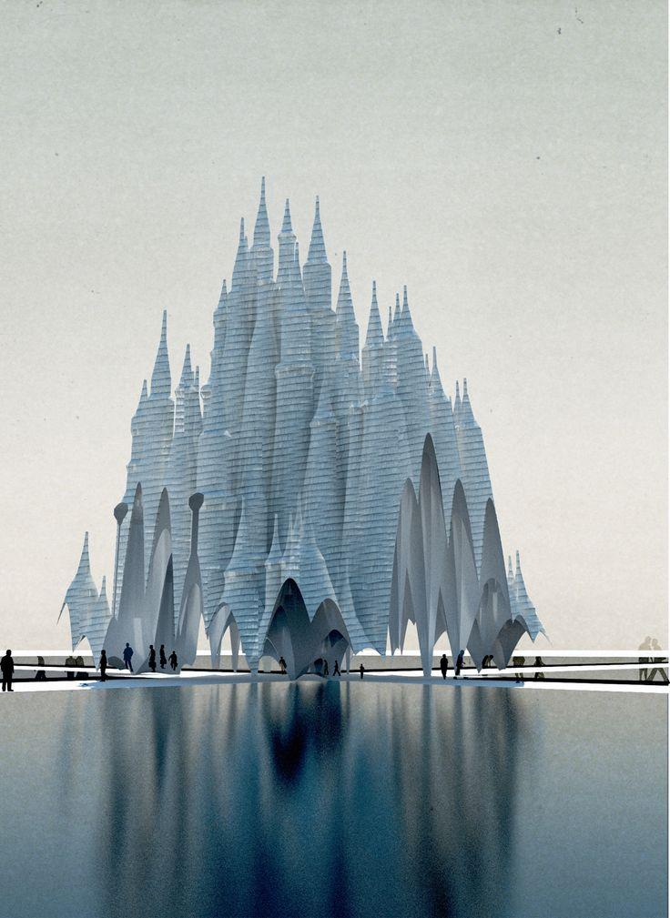 Les 36 meilleures images du tableau b timent futuriste sur for Architecture futuriste ecologique