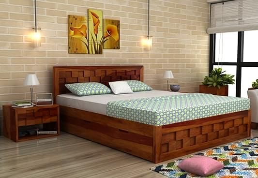 . Queen Size Bed Designs   HOMES ELEGANCE in 2019   Modern wood bed