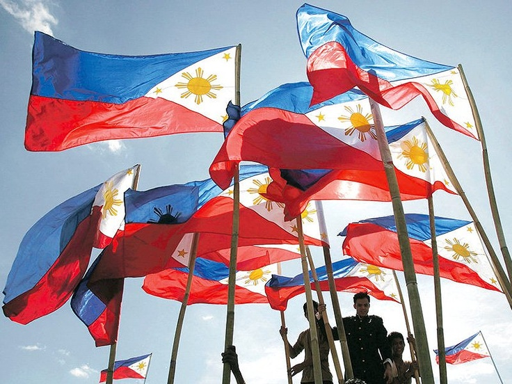 Flags flutter in the breeze in this file photo, stirring pride in Filipino hearts. National Flag Day was celebrated yesterday, commemorating the waving of the tricolor in Cavite City by Gen. Emilio Aguinaldo, to mark the victory of Filipinos on that day in the Battle of Alapan in Imus, Cavite.