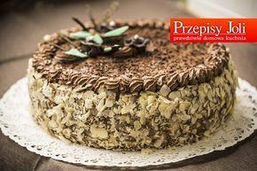 TORT JERZEGO POŁOMSKIEGO – ten tort powstał specjalnie dla Jerzego Połomskiego w ramach prezentu na jego 81 urodziny TORT JERZEGO POŁOMSKIEGO Składniki: 8 jajek 250 g cukru pudru 250 g maku 1 łyżka miodu 60 g bułki tartej 1 laska wanilii (sam środek) 1 szklanka śmietany 36% 1 słoiczek kremu nutella (230 g) 1 serek …