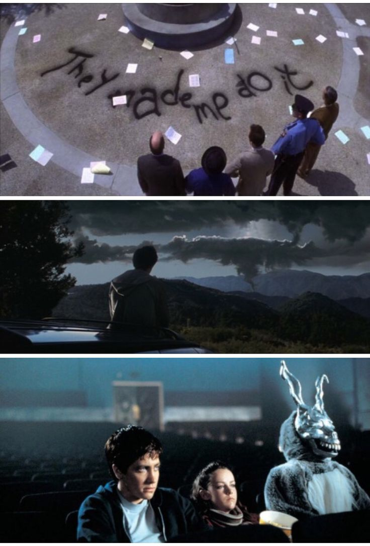 donnie darko film techniques In the film when donnie is standing in the bathroom talking to frank, donnie lifts up a knife and makes stabbing motions at the visage of frank's right eye) as the prophesied time of the world's end draws donnie darko study guide 2011 donnie darko.