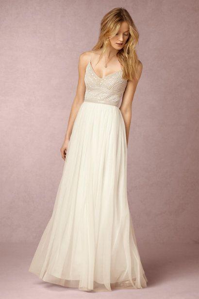Pretty BHLDN dress for the bride