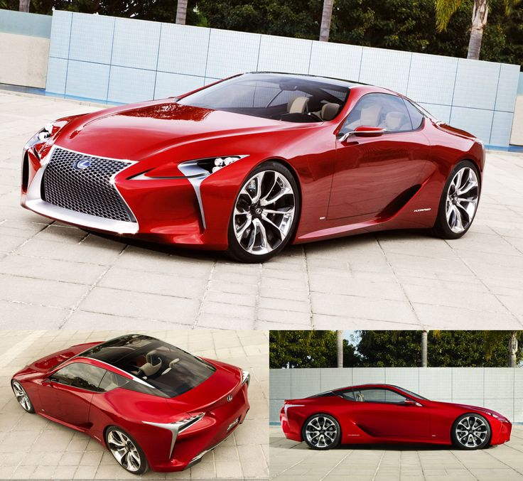 Lexus Lf Lc Sports Car Could Be Made Will It Be A Hybrid: Voiture De Sport Images On Pinterest