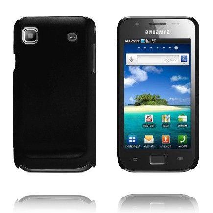 Hard Shell (Sort) Samsung i9003 Galaxy SL Deksel