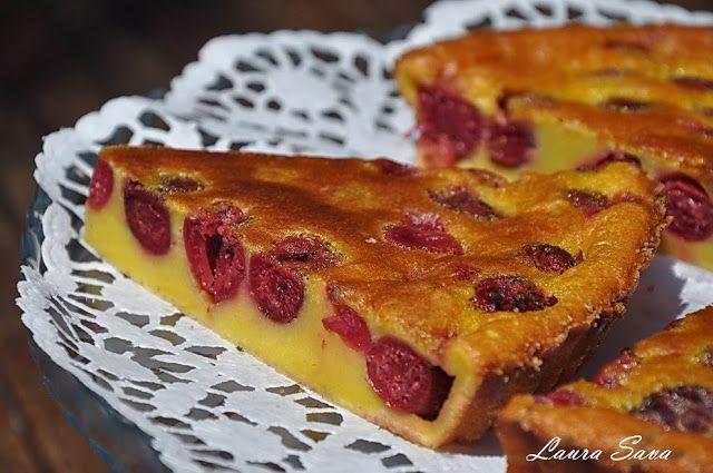 Clafoutis cu visine | Retete culinare cu Laura Sava - Cele mai bune retete pentru intreaga familie