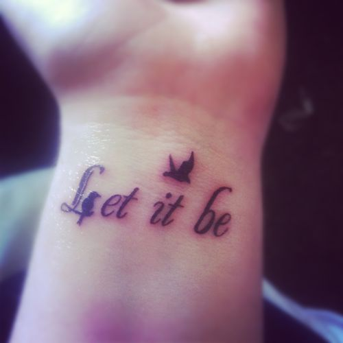 Tattoo Cursive Black Rip Birds Quote For Every: Best 25+ Side Quote Tattoos Ideas On Pinterest