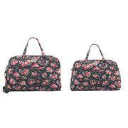 Wells Rose Foldaway Weekender Bag