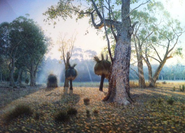 A Sam Broadhurst landscape painting in the  Margaret River region