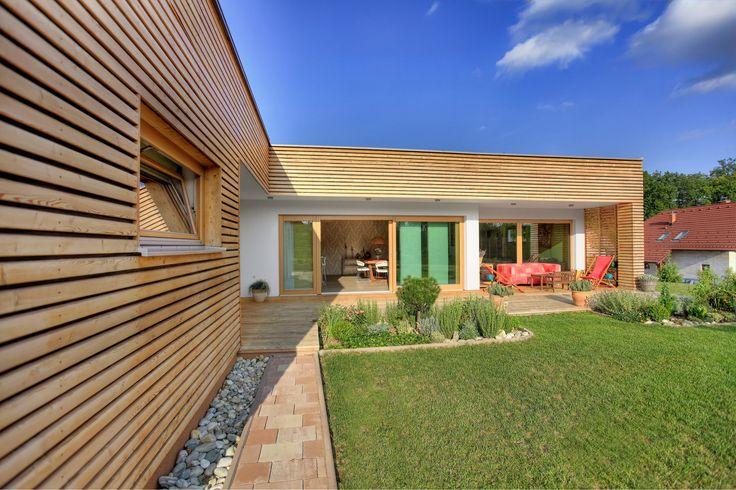 Dettagli di una villa #Biohaus. #architettura #bioedilizia #design