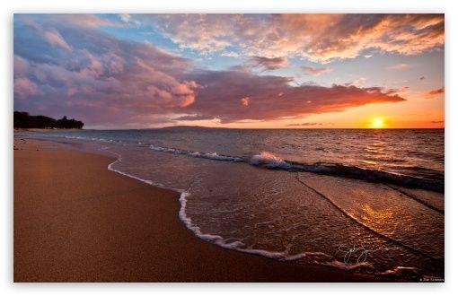 Beach - Sunset wallpaper