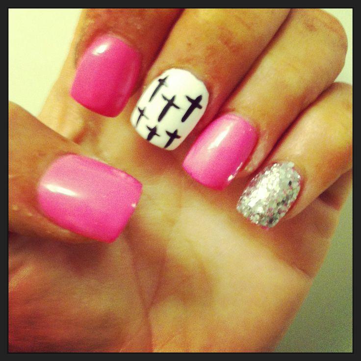 Cross nail design - The 25+ Best Cross Nail Designs Ideas On Pinterest 16d Nail, Fun