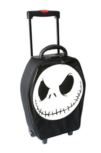 Nightmare Before Christmas - Trolley Case (just knowing this exists makes me very happy)